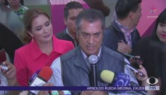 Jaime Rodríguez 'El Bronco' dice que denunciará al INE ante la Fepade