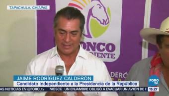 Jaime Rodríguez propone modernizar el campo