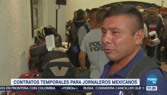 Contratos Temporales Jornaleros Mexicanos