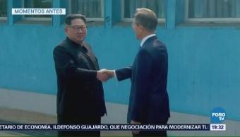 Corea del Norte Kim Jong Un Corea del Sur Moon Jae-in