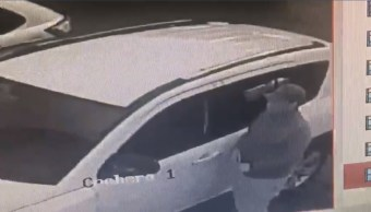 Ladrón rompe cristal de camioneta para hurtar bolso en Cholula