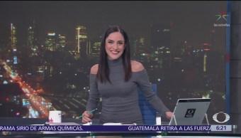 Las noticias, con Danielle Dithurbide: Programa del 10 de abril del 2018
