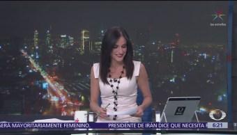 Las noticias, con Danielle Dithurbide: Programa del 18 de abril del 2018