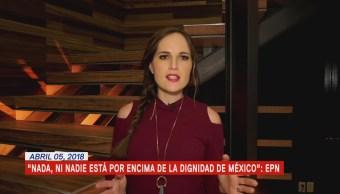 Las noticias, con Julio Patán: Programa del 5 de abril