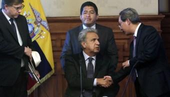 Lenín Moreno frena diálogo de paz con ELN en Ecuador