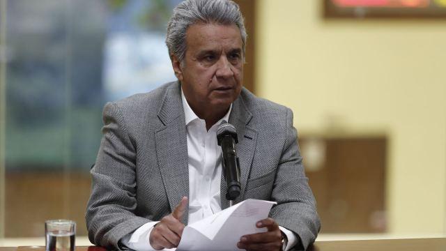 """FOTO: Presidente de Ecuador se disculpa por """"minimizar"""" violencia contra la mujer, el 01 de febrero de 2020"""