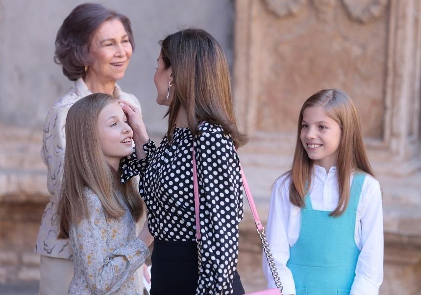 La reina Letizia y doña Sofía se reconcilian