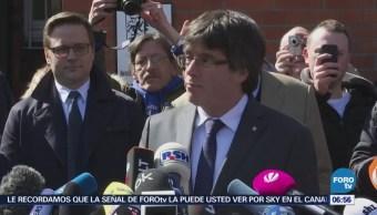 Liberan a Carles Puigdemont tras pagar fianza en Alemania