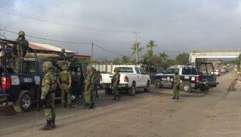 Se registra enfrentamiento entre grupos antagónicos en Culiacán Sinaloa