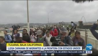 Llega Caravana Viacrucis Migrante Frontera Estados Unidos