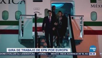 Llega el presidente Enrique Peña Nieto a Madrid