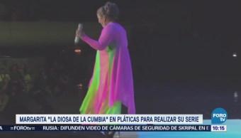 #LoEspectaculardeME: Margarita 'La diosa de la cumbia' en pláticas para realizar su serie