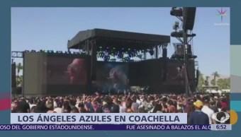 Los Ángeles Azules debutan en el festival Coachella con éxito
