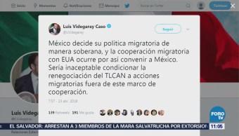 Luis Videgaray responde a Donald Trump sobre renegociación del TLCAN