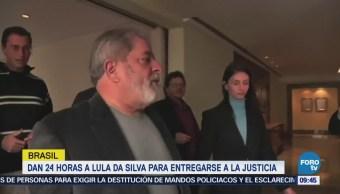 Lula da Silva no planea entregarse a las autoridades