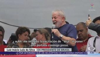 Lula da Silva ya está en prisión por corrupción y lavado de dinero