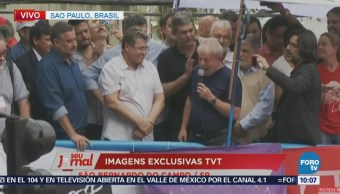 Lula Sale Sindicato Donde Acuarteló Brasil