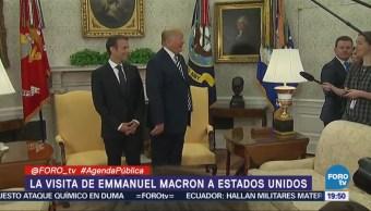 Emmanuel Macron Obtener Concesiones Donald Trump