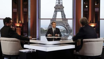 Macron afirma que Francia 'no ha declarado la guerra a Siria'