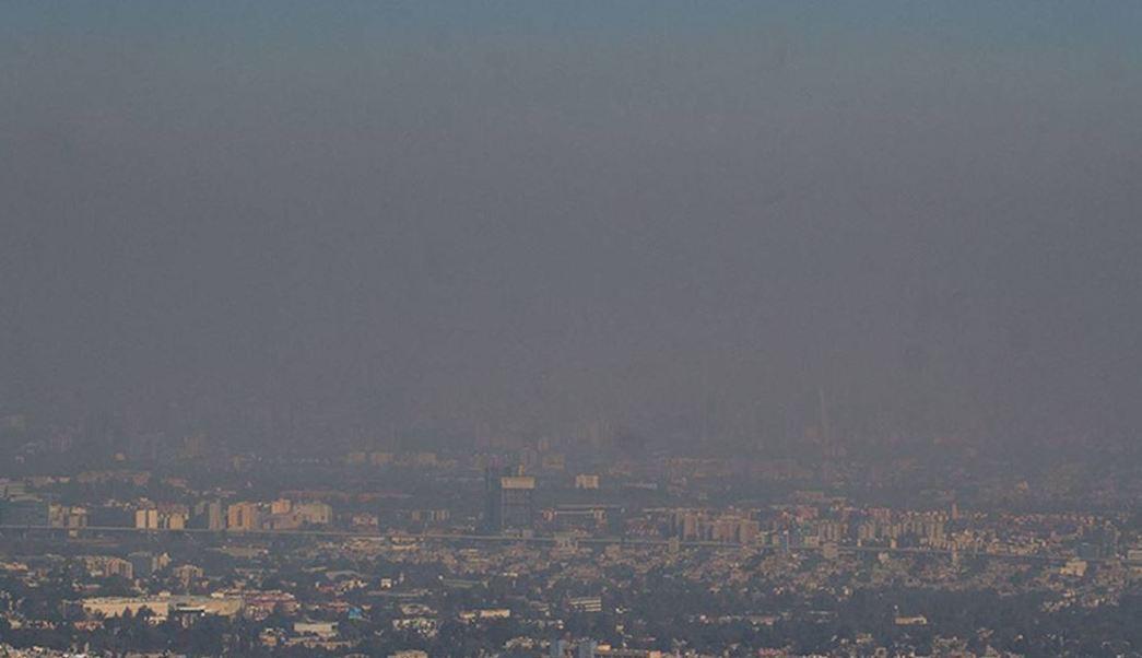 Ecatepec amanece con mala calidad del aire