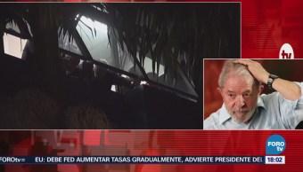 Manifestaciones Apoyo Lula Da Silva Miles De Personas Calles De Brasil