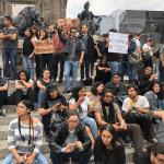 Marchan estudiantes asesinados Jalisco exigen justicia