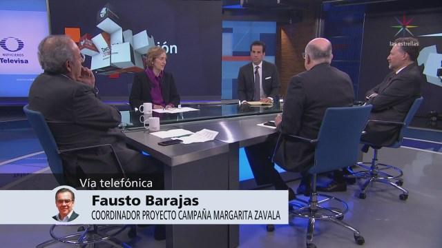 Margarita Logró Colocar Sus Mensajes Fausto Barajas