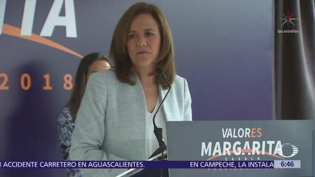 Margarita Zavala acude al INE para impugnar cifra de spots