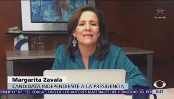 Margarita Zavala condena condiciones de cárceles mexicanas