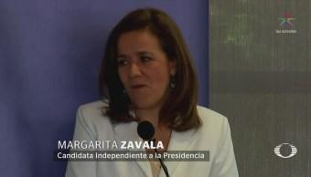 Margarita Zavala destaca buena vecindad entre México y EU