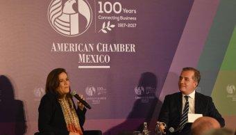 Margarita Zavala analiza a los contrincantes en la elección federal