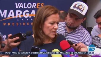 Margarita Zavala pide a Trump respetar a México