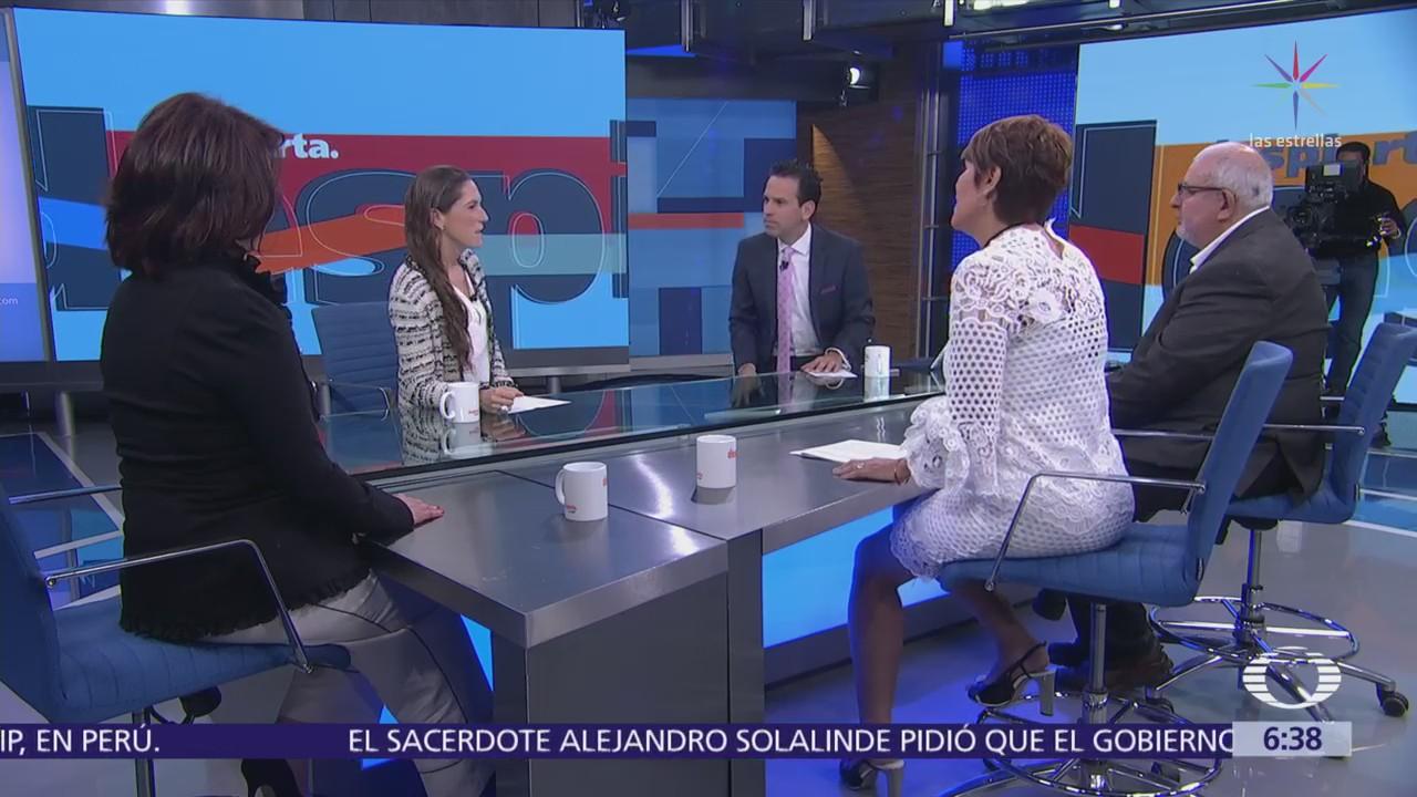Mariana Boy, Marco Rascón, Purificación Carpinteyro y Lorena Osornio en Despierta