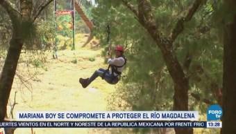 Mariana Boy Mejorará Conservación Río Magdalena