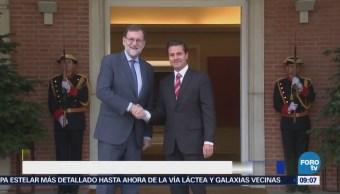 Mariano Rajoy se reunió con el presidente Enrique Peña Nieto