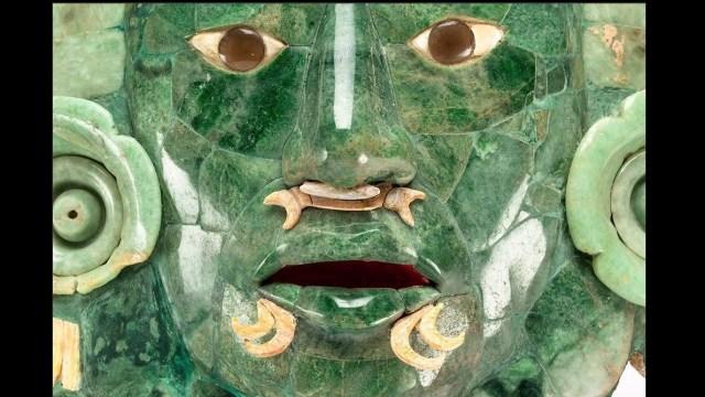 Máscara de jade de Calakmul se quedará en Campeche
