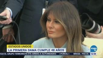 Melania Trump celebra su cumpleaños 48
