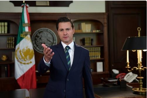 Peña Nieto responde a Trump y pide respeto para los mexicanos