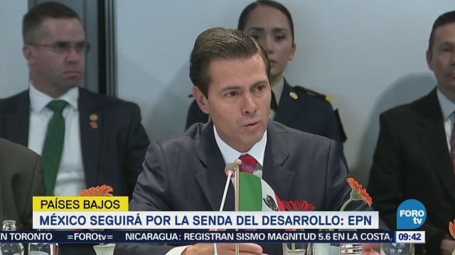 México seguirá por la senda del desarrollo: EPN