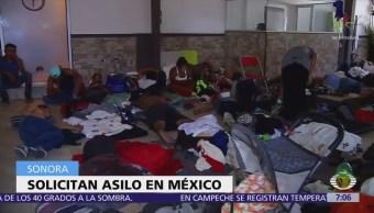 Migrantes centroamericanos quedan varados en Sonora