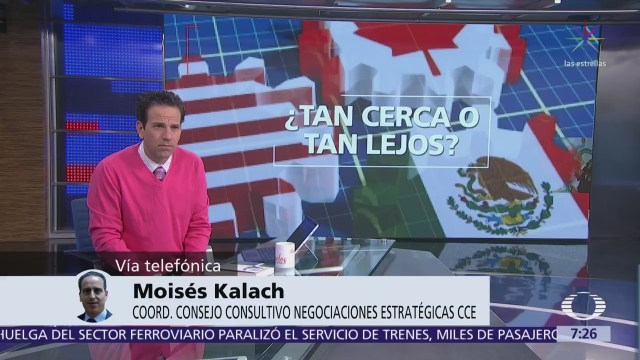 Moisés Kalach analiza en Despierta cómo avanza la renegociación del TLCAN