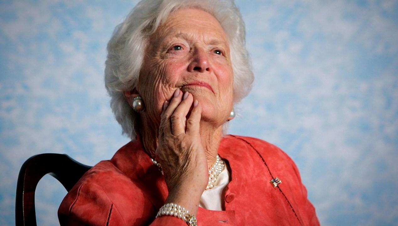 Muere Barbara Bush exprimera dama Estados Unidos