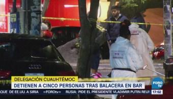 Muere Joven Balacera Bar Condesa Cuauhtémoc CDMX
