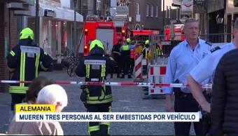 Mueren Tres Personas Ser Embestidas Vehículo Alemania