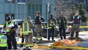 Identifican autor atropellamiento Toronto suman 10 muertos