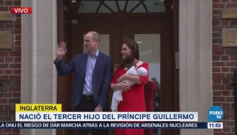 Nace el tercer hijo del príncipe Guillermo