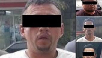 Detienen a cuatro presuntos narcomenudistas en la CDMX