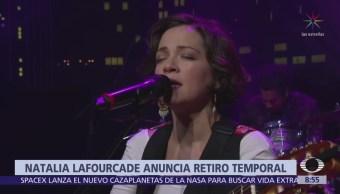 Natalia Lafourcade anuncia retiro de la música