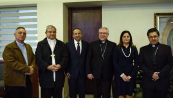 Navarrete dialoga en la CEM sobre reunión de obispo de Chilpancingo-Chilapa con capo del narco