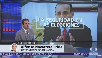 Navarrete Prida habla en Despierta sobre la seguridad de los candidatos